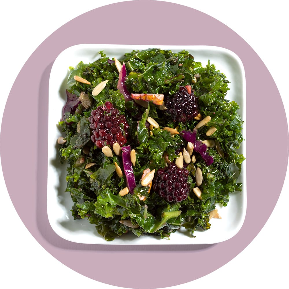 Blackberry Kale