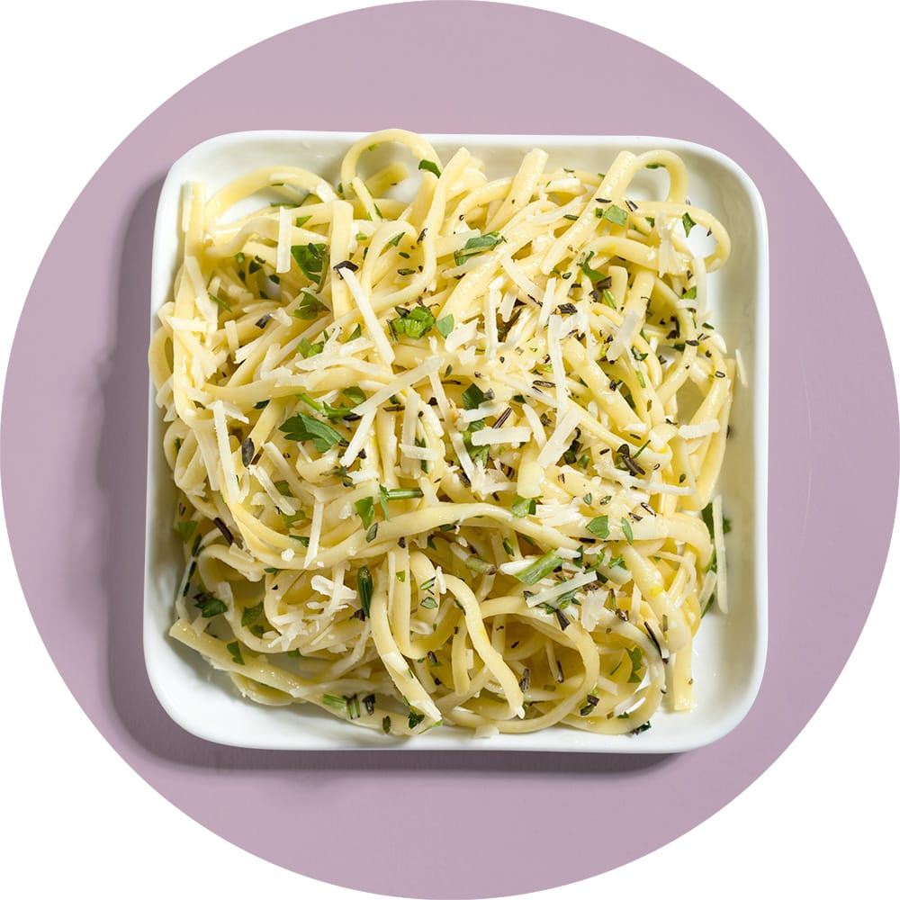 Lemon Herb Angel Hair Pasta